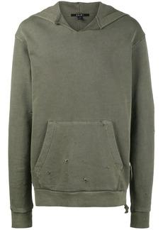 Ksubi Caring Damaged hoodie - Green