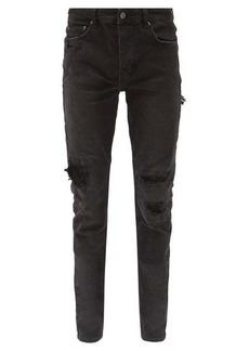 Ksubi Chitch distressed slim-leg jeans