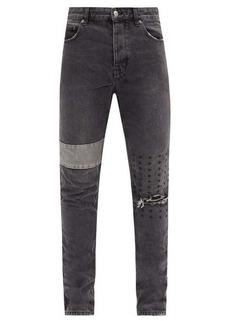 Ksubi Chitch Dynamo logo-stitched jeans