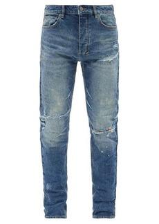 Ksubi Chitch Odyssey distressed slim-leg jeans