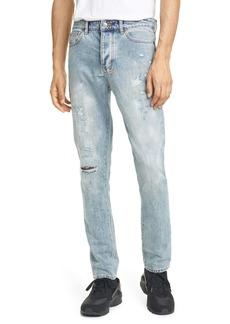 Ksubi Chitch Rekonize Ruins Ripped Skinny Fit Jeans