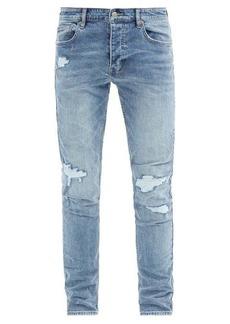 Ksubi Chitch Runaway distressed slim-leg jeans