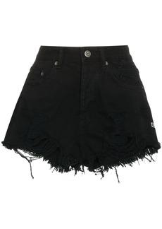 Ksubi Clas Sick Cut Off Shorts - Black