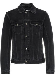 Ksubi classic sketchy denim jacket - Black