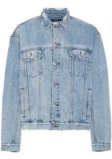 Ksubi distressed denim jacket - Blue