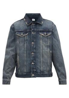 Ksubi Distressed denim jacket