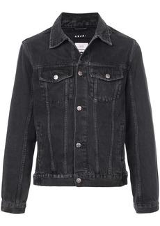 Ksubi distressed detail denim jacket - Black