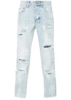 Ksubi distressed slim-fit jeans - Blue