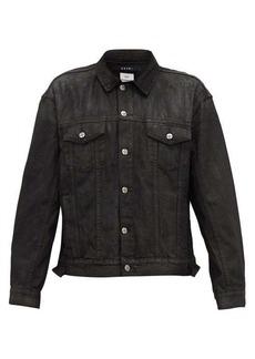 Ksubi Faded-effect denim jacket