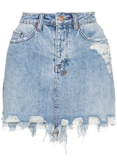 Ksubi ksubi high waisted ripped denim mini skirt   blue abv5aa8ee12 a