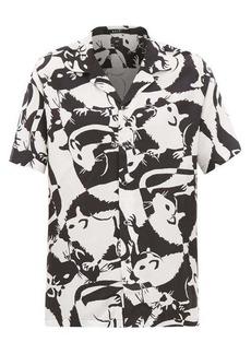 Ksubi Klub Rat twill shirt
