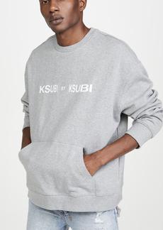 Ksubi Ksubi By Ksubi Crew Sweatshirt