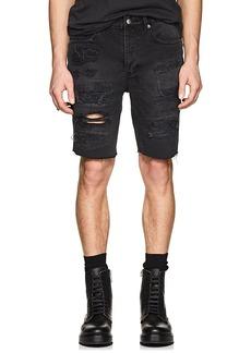 Ksubi Men's Axel Distressed Denim Shorts