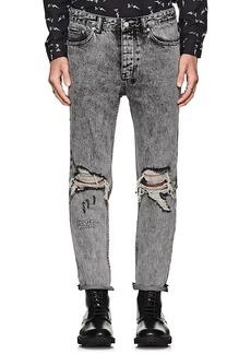 Ksubi Men's Chitch Chop Distressed Slim Jeans
