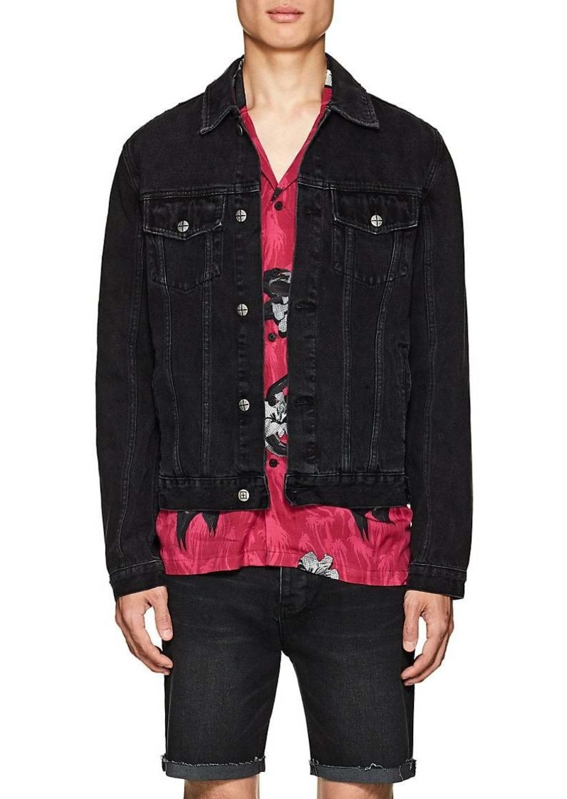 65689058644 On Sale today! Ksubi Ksubi Men's Classic Distressed Denim Jacket