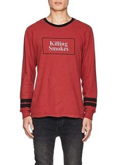 """Ksubi Men's """"Killing Smokes"""" Cotton T-Shirt"""