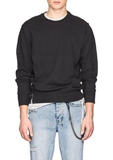 Ksubi Men's Pin-Embellished Cotton French Terry Sweatshirt