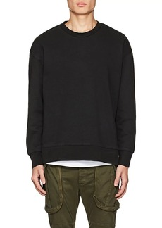 Ksubi Men's Seeing Lines Cotton Terry Sweatshirt