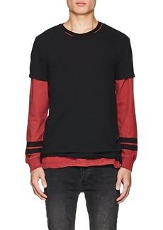 Ksubi Men's Sioux Distressed Cotton Jersey T-Shirt