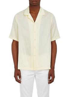 Ksubi Men's Trop Motel Palm Jacquard Silk-Cotton Shirt