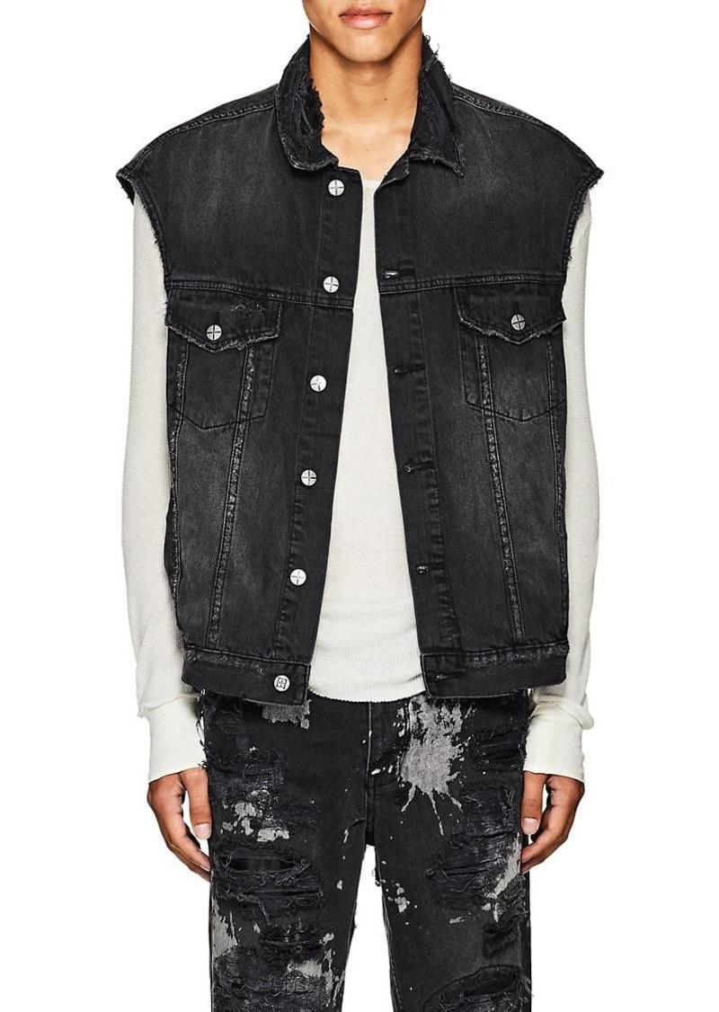 97d5199e839e Ksubi Ksubi Men's Vices Distressed Denim Vest | Outerwear