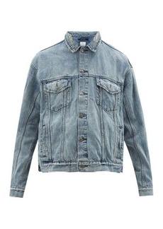 Ksubi Oh G distressed denim jacket