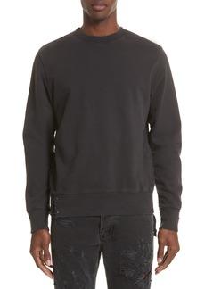 Ksubi Pins Distressed Sweatshirt