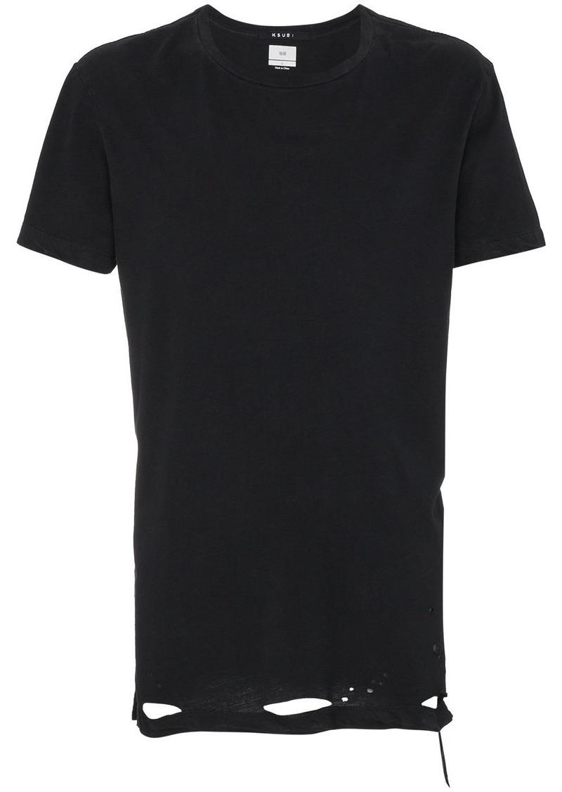 Ksubi Sioux distressed t-shirt