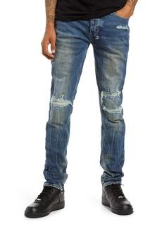 Ksubi Van Winkle Boneyard Rage Men's Ripped Skinny Jeans