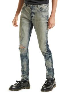 Ksubi Van Winkle Rehab Ripped Skinny Jeans