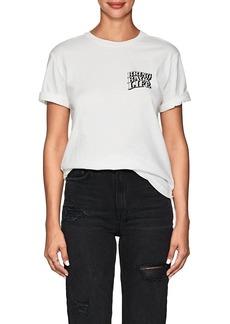 """Ksubi Women's """"Bring Back Life"""" Cotton T-Shirt"""