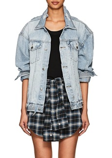 Ksubi Women's Chillz Distressed Denim Jacket