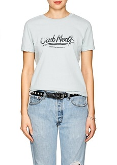 "Ksubi Women's ""Club Med"" Cotton T-Shirt"