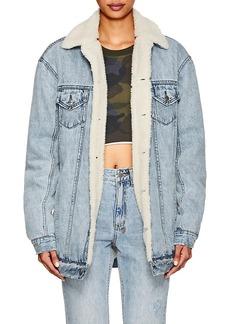 Ksubi Women's Dame Denim Oversized Trucker Jacket