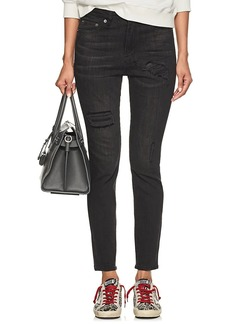 Ksubi Women's Distressed High-Rise Skinny Jeans