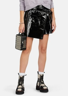 Ksubi Women's Dreams Patent Leather Miniskirt