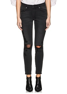 Ksubi Women's Spray On Distressed Skinny Jeans