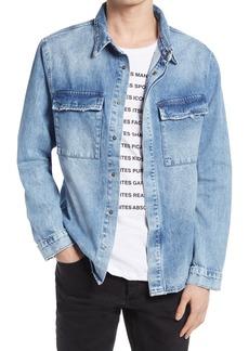 Men's Ksubi Snakebite Button-Up Shirt