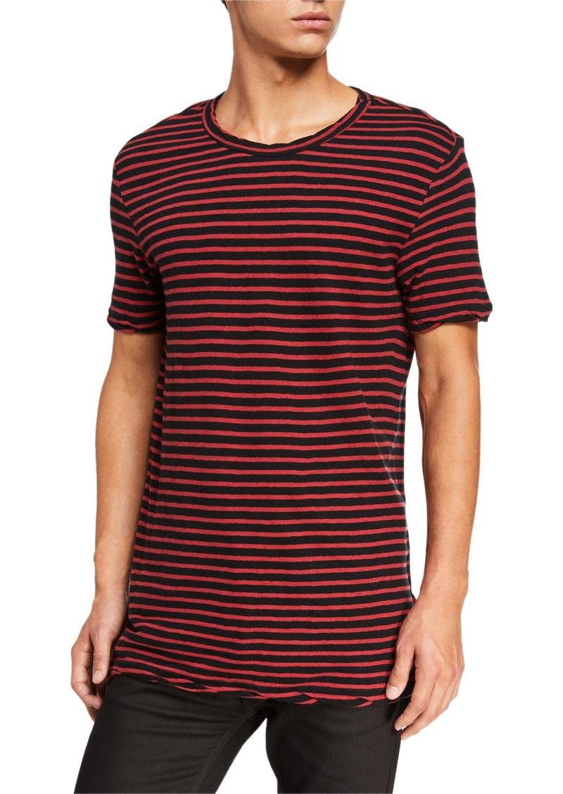 Ksubi Men's Sinister Striped T-Shirt