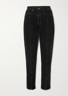 Ksubi New Wave Zip-detailed High-rise Slim-leg Jeans
