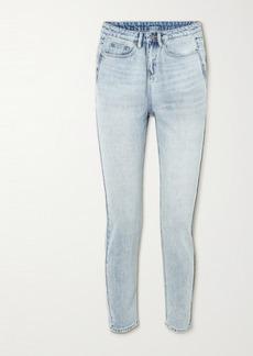 Ksubi Nine O Cropped High-rise Slim-leg Jeans