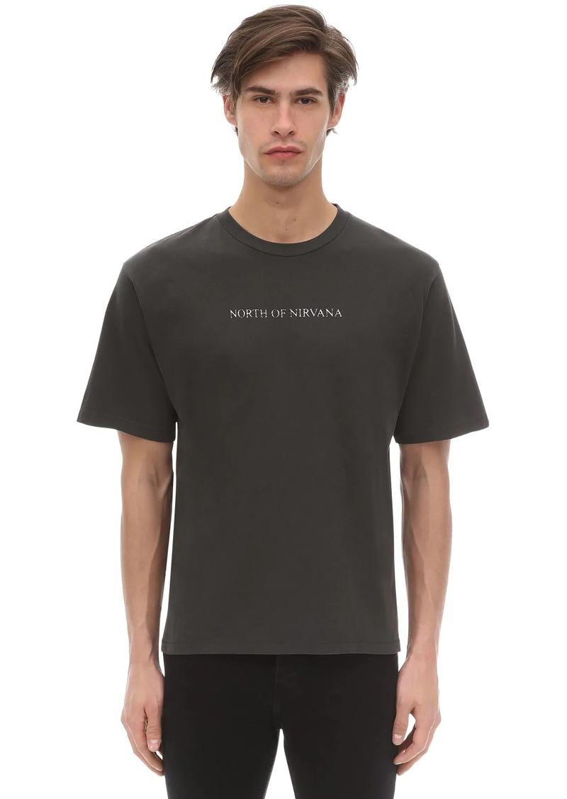 Ksubi North Of Nirvana Cotton Jersey T-shirt