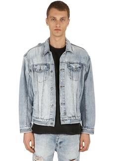 Ksubi Oversize Distressed Chillz Denim Jacket