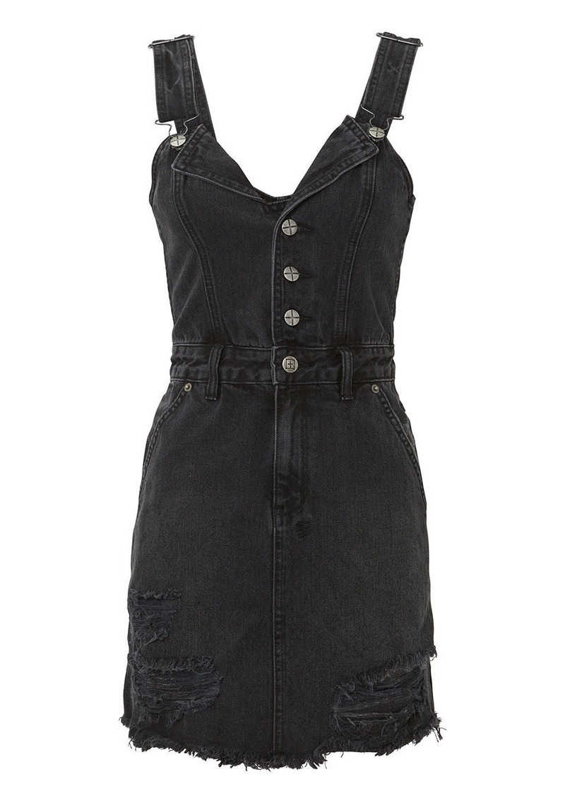 Ksubi Palms Pini Denim Dress