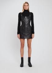 Ksubi Phantom Leather Mini Dress - S - Also in: XS, M, L