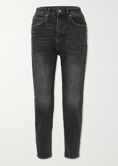 Ksubi Pointer High-rise Tapered Denim Jeans