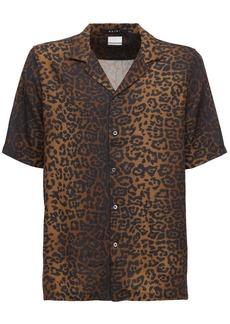 Ksubi Prowler Printed Rayon Shirt
