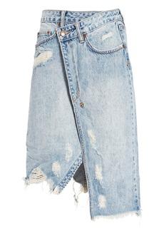 Ksubi Rap Midi Skirt