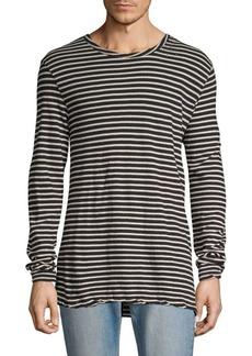 Ksubi Sinister Long Sleeve Striped T-Shirt