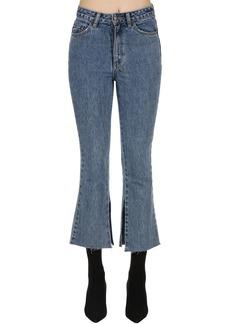 Ksubi Skinny Kick'n Flared Denim Jeans